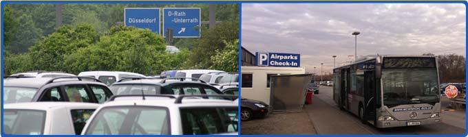 parken zu top preisen am airparks d sseldorf parkplatz. Black Bedroom Furniture Sets. Home Design Ideas